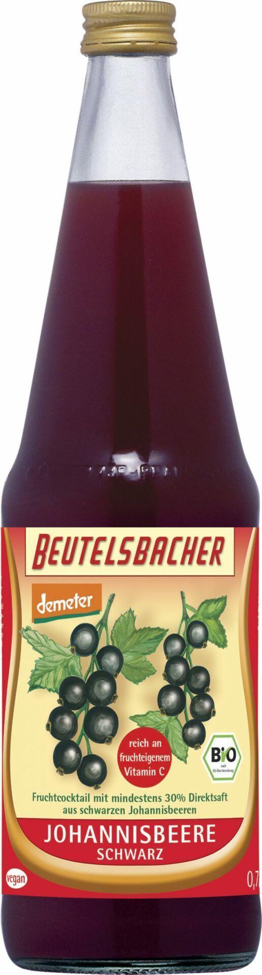 BEUTELSBACHER Demeter Johannisbeere schwarz 6x0,7l