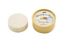 jolu Naturkosmetik Shampoo Bar Zitrone Orange 50g