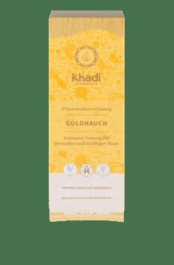 khadi Naturprodukte khadi Pflanzenhaarfarbe Goldhauch 100g