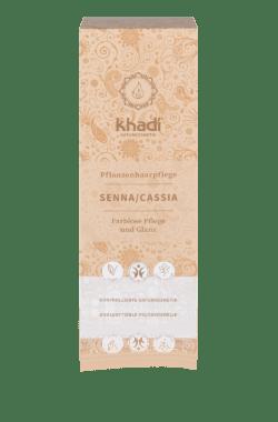 khadi Naturprodukte khadi Pflanzenhaarfarbe Senna/Cassia 100g