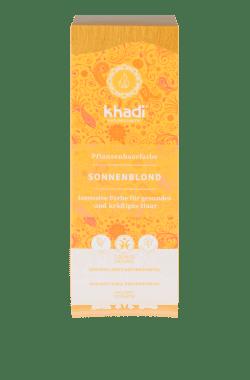 khadi Naturprodukte khadi Pflanzenhaarfarbe Sonnenblond 100g