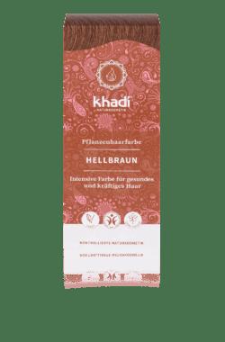 khadi Naturprodukte khadi Pflanzenhaarfarbe Hellbraun 100g