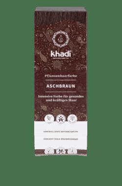 khadi Naturprodukte khadi Pflanzenhaarfarbe Aschbraun 100g