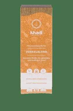 khadi Naturprodukte khadi Pflanzenhaarfarbe Dunkelblond 100g