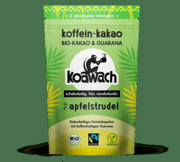 koakult GmbH koawach Apfelstrudel Bio-Kakao mit Guarana 8x100g