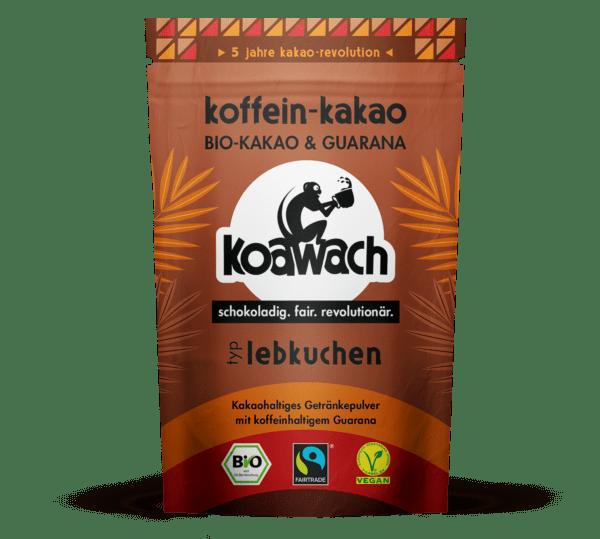 koakult GmbH koawach Lebkuchen Bio-Kakao mit Guarana 8x100g