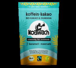 koakult koawach Karamell + Meersalz Bio-Kakao mit Guarana 8x100g
