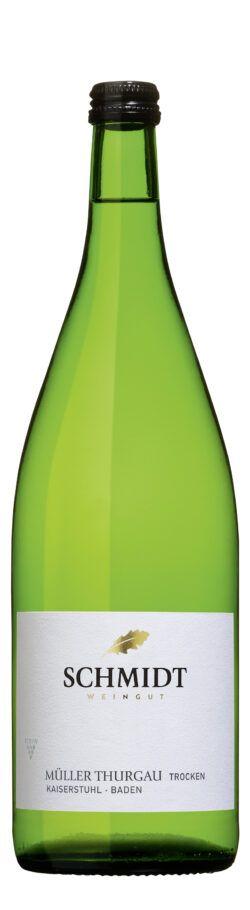 Ökologisches Weingut Schmidt Müller-Thurgau QbA Trocken Lagenwein 1l