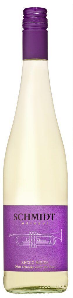 Ökologisches Weingut Schmidt Secco Weiß Piccolo 12x0,2l