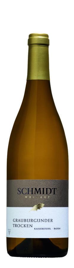 Ökologisches Weingut Schmidt Grauburgunder QbA Trocken Premium Aus dem Holzfass 6x0,75l