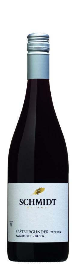 Ökologisches Weingut Schmidt Spätburgunder QbA Trocken Lagenwein 6x0,75l