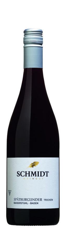 Ökologisches Weingut Schmidt Spätburgunder QbA Trocken Lagenwein 0,75l