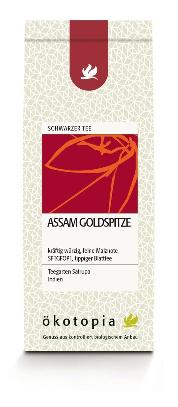 Ökotopia  Assam Goldspitze kbA 5x75g