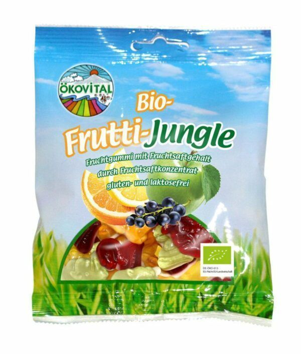 Ökovital Bio Frutti Jungle 12x100g