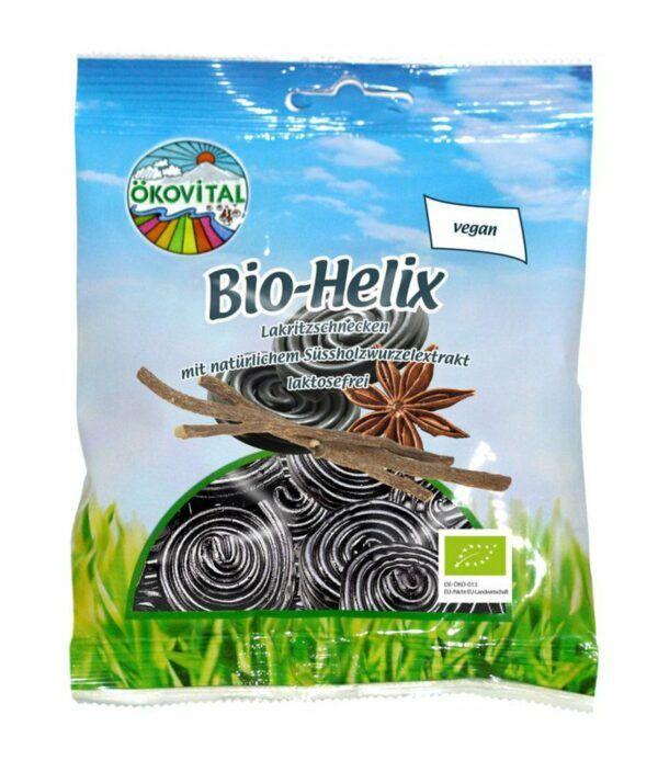 Ökovital Bio Helix, Lakritzschnecken 12x100g