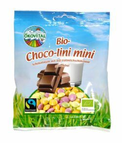 Ökovital Bio-Choco-lini mini, Bio-Schokolinsen 100g