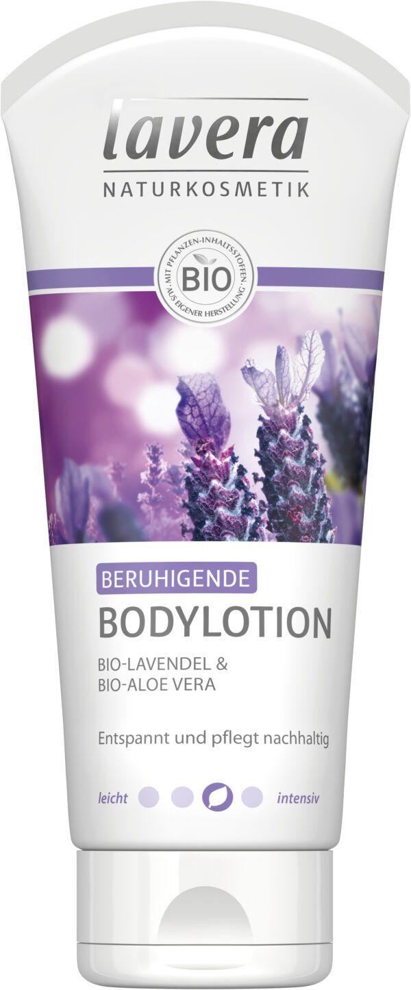 lavera Beruhigende Bodylotion Bio-Lavendel & Bio-Aloe Vera 4x200ml
