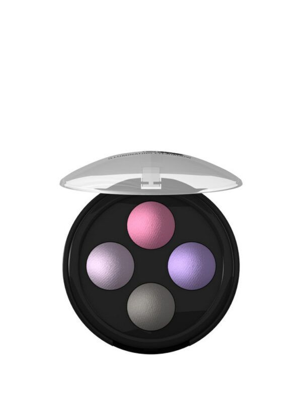 lavera Illuminating Eyeshadow Quattro - Lavender Couture 02 0,8g