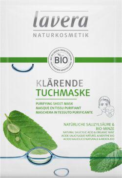 lavera Klärende Tuchmaske 10x21ml