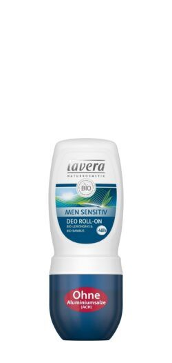lavera Men Sensitiv Deo Roll-On / Bio-Lemongras & Bio-Bambus 50ml