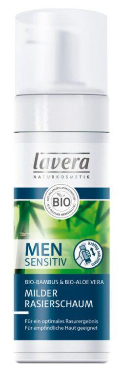 lavera Men sensitiv Milder Rasierschaum 150ml