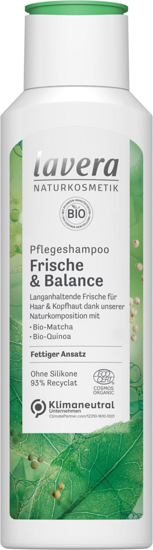 lavera Pflegeshampoo Frische & Balance 6x250ml