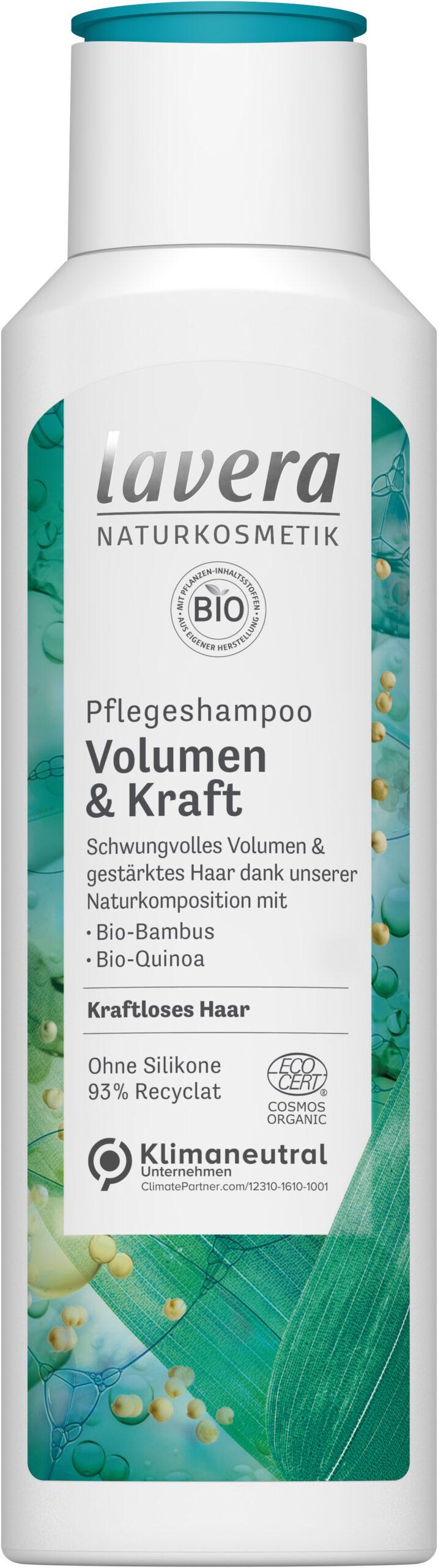lavera Pflegeshampoo Volumen & Kraft 6x250ml