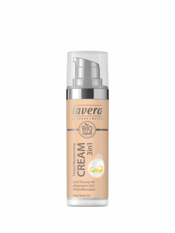 lavera Tinted Moisturising Cream 3in1 Q10 -Ivory Nude 02- 30ml
