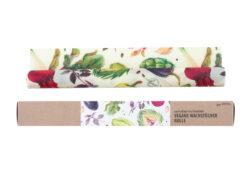 little bee fresh Veganes Wachstuch Rolle - 32x70 cm - Gemüse 1Stück