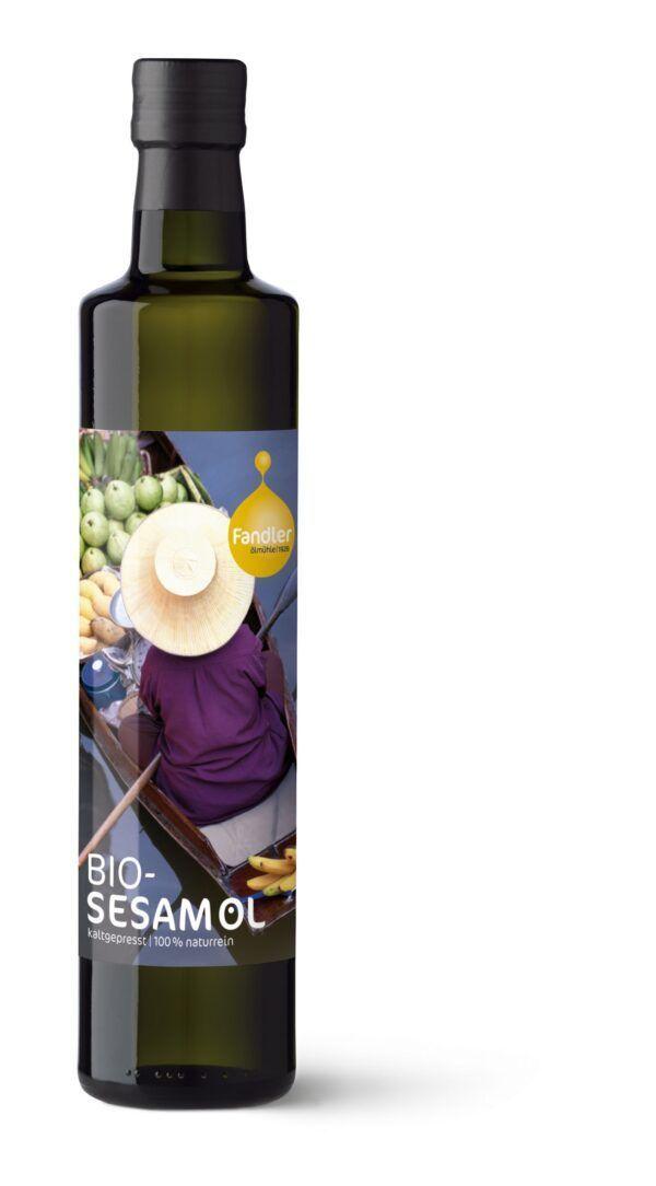 Ölmühle Fandler Fandler Bio-Sesamöl kaltgepresst 6x250ml