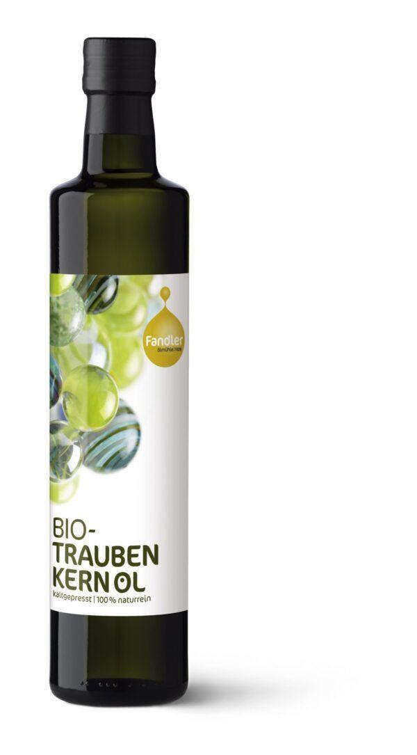Ölmühle Fandler Fandler Bio-Traubenkernöl kaltgepresst 6x100ml