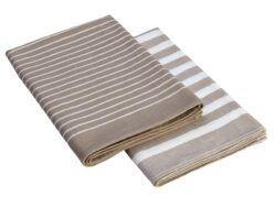 memo AG 2 memo Geschirrtücher aus Bio-Baumwolle, Fairtrade, 50 x 70 cm 2Stück