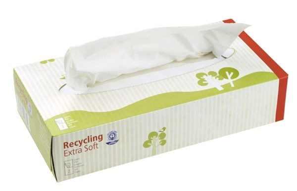 memo AG memo Kosmetiktücher Recycling Extra Soft 100 Stück, 2-lagig 100Stück