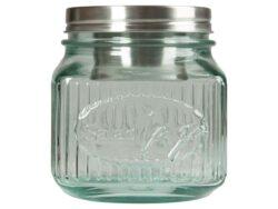 memo Handelsware Recycling-Schraubglas