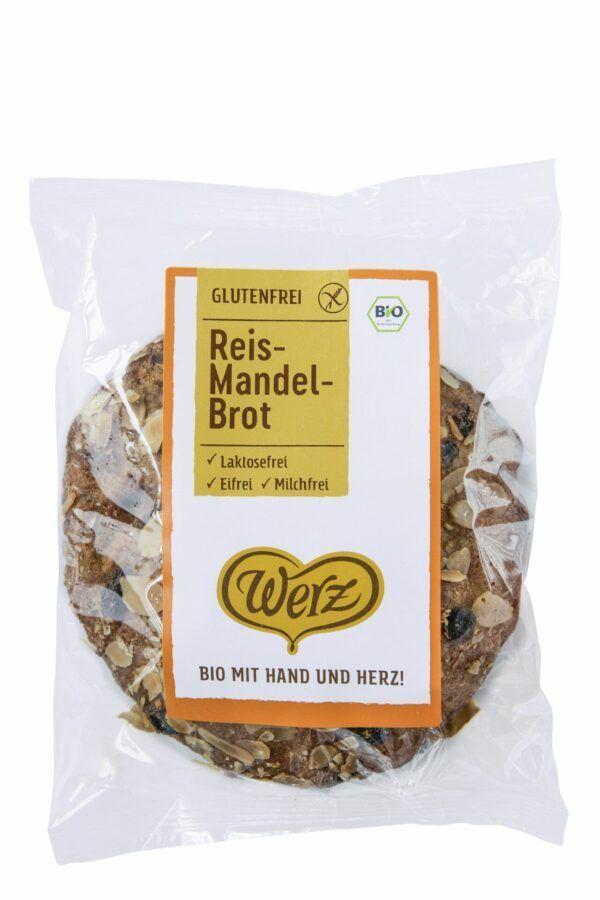 naturkorn mühle Werz Reis-Mandel-Brot glutenfrei 4x250g