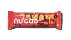 nucao - Bio-Riegel mit Kakaobutter und Hanfsamen mit Geschmack Raspberry 12x40g