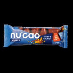 nucao - Bio-Riegel mit Kakao und Hanfsamen mit Cornflakes 12x40g