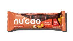 nucao Bio-Schokolade mit Hanfsamen mit Geschmack Cashew Vanille 12x40g