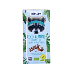 raccoon Bio Protein White Coco Almond 12x40g