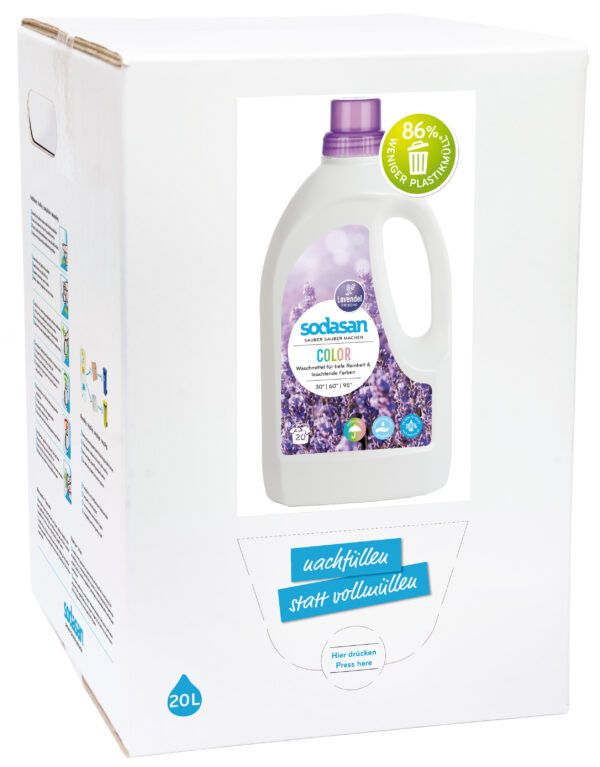 sodasan Color Lavendel Waschmittel 20l