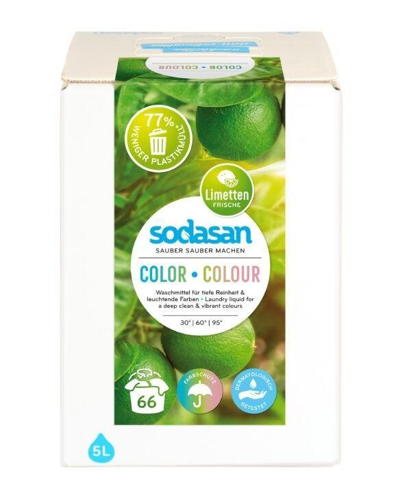 sodasan Color-Limette Flüssigwaschmittel 5l
