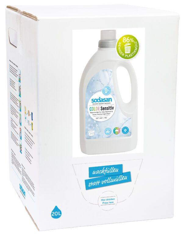 sodasan Color-sensitive Flüssigwaschmittel 20L 5l