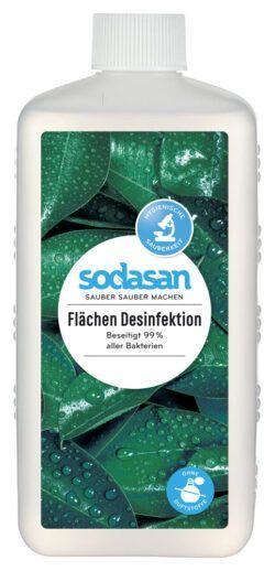sodasan Flächen Desinfektion Euroflasche 6x1l