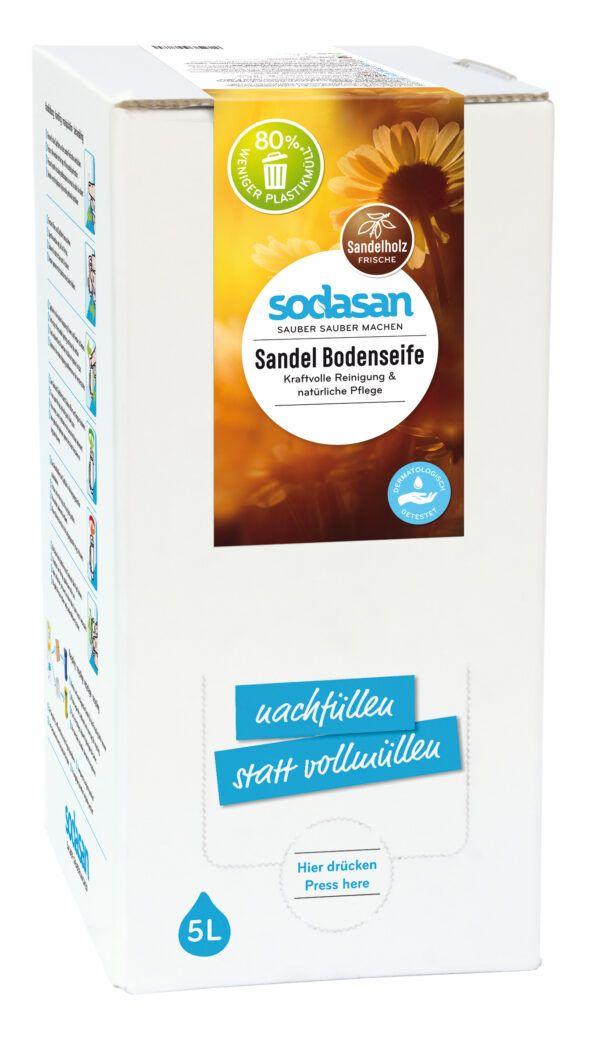 sodasan Sandel Bodenseife 5l