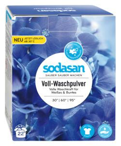 sodasan Voll-Waschpulver 4x1010g