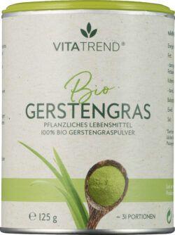 vitatrend 100 % Bio Gerstengraspulver 125g