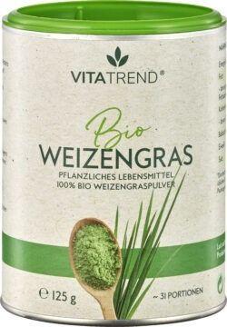 vitatrend 100 % Bio Weizengraspulver 125g
