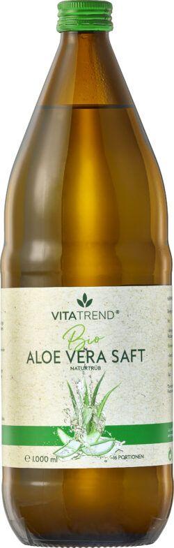 vitatrend BIO Aloe Vera Saft naturtrüb 6x1l
