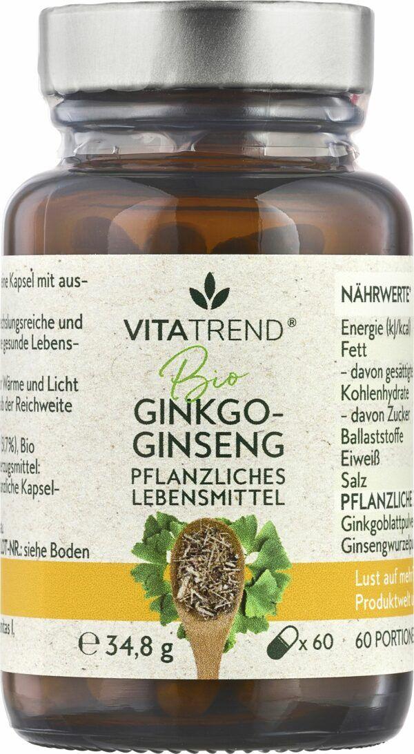 vitatrend BIO Ginkgo-Ginseng 34,8g