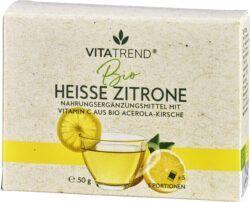vitatrend BIO Heisse Zitrone Heißgetränkepulver 50g